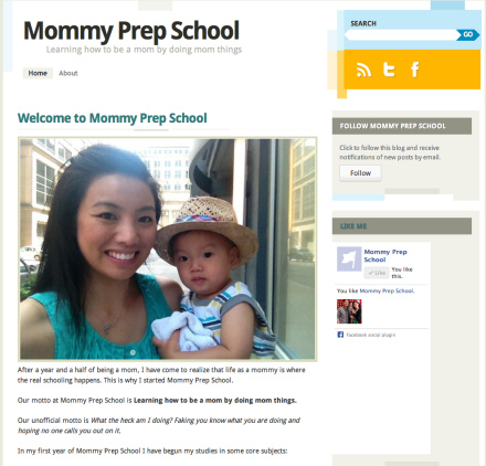 Mommy Prep School Screen Shot